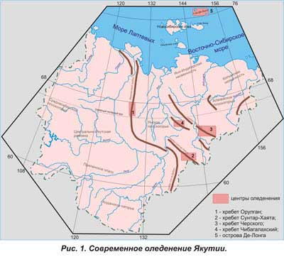 Якутия страна природных контрастов
